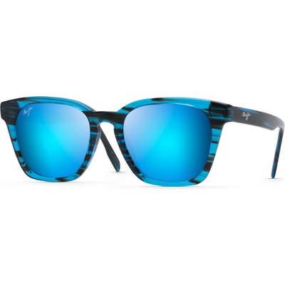 Maui Jim Shave Ice 52mm Polarized Sunglasses - Electric Blue
