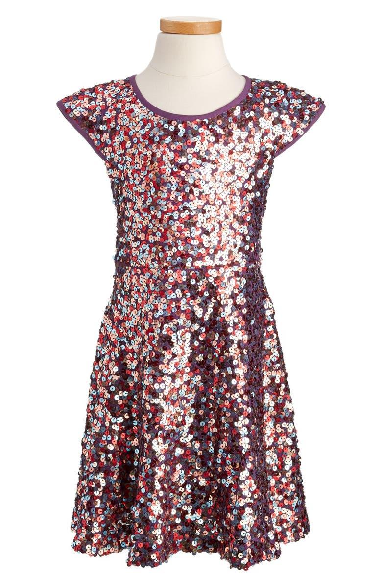 f0bae0320cf3 Mini Boden x Roald Dahl Rainbow Drops Dress (Toddler Girls, Little ...