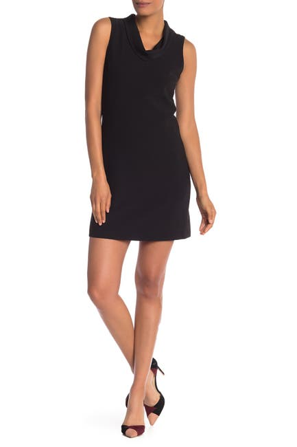 Image of NANETTE nanette lepore Crepe Cowl Neck Dress