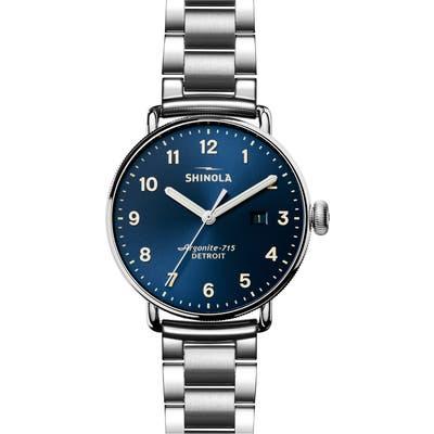 Shinola The Canfield Bracelet Watch, 4m