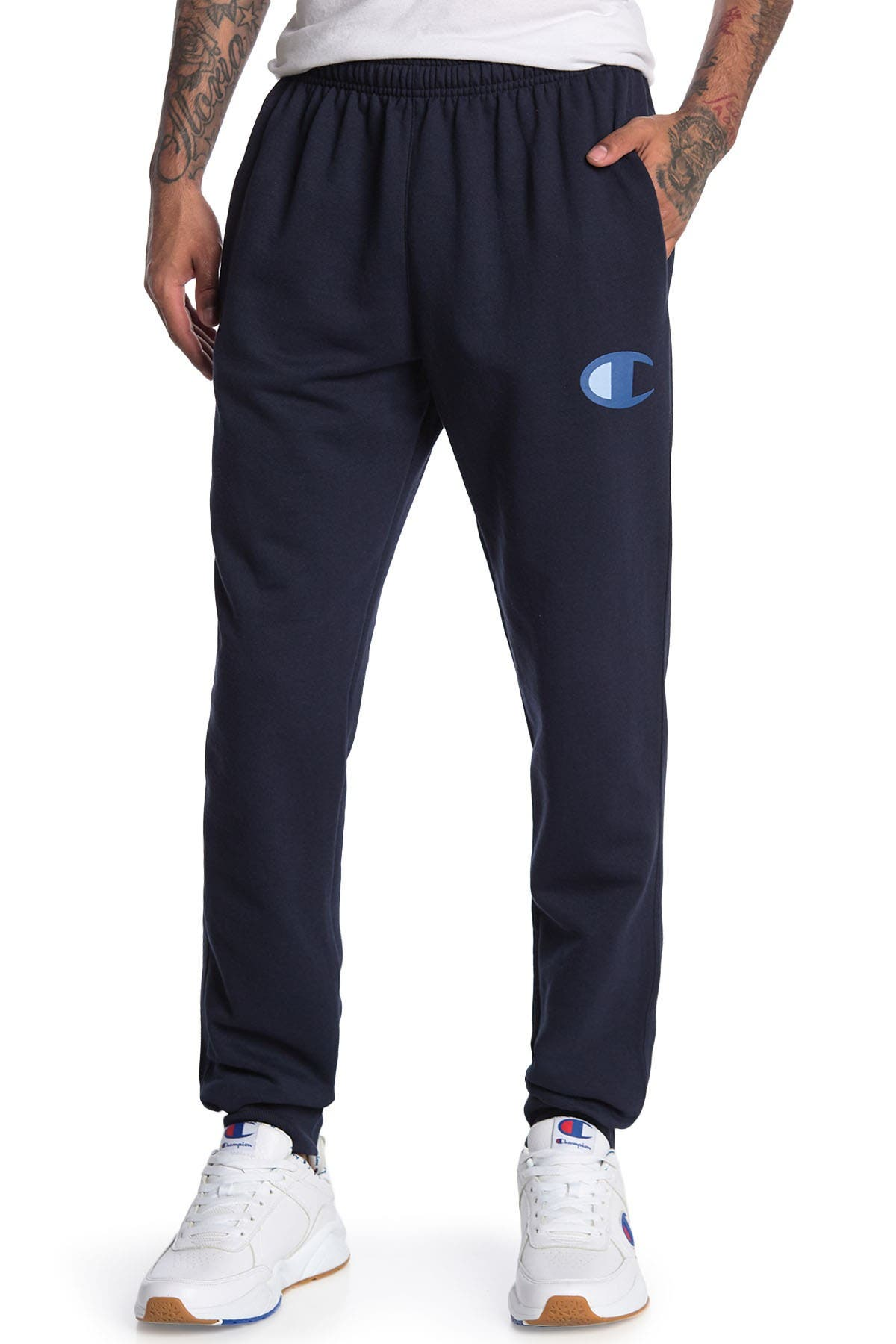 Image of Champion Powerblend Graphic Joggers