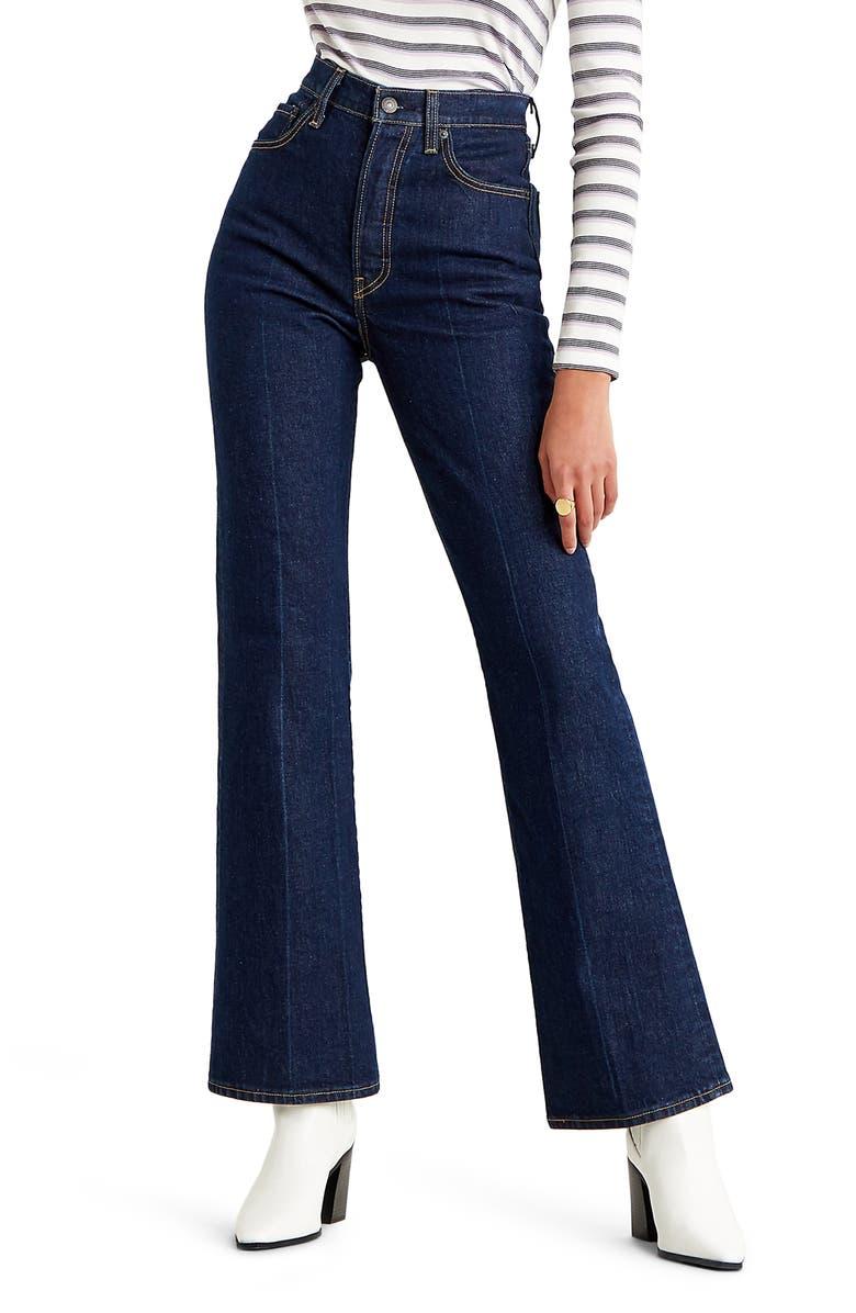 LEVI'S<SUP>®</SUP> Ribcage High Waist Bootcut Jeans, Main, color, HIGH KEY