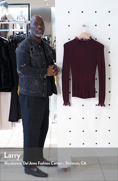 Frill Trim Sweater, sales video thumbnail