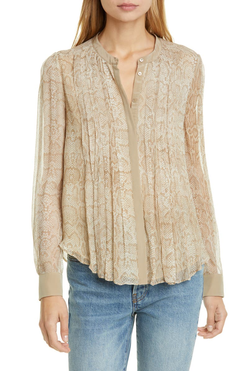 JOIE Tassa Silk Blouse, Main, color, 230