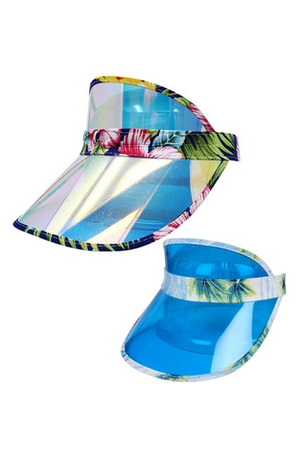 Image of David & Young Aloha Party Visor - Pack of 2