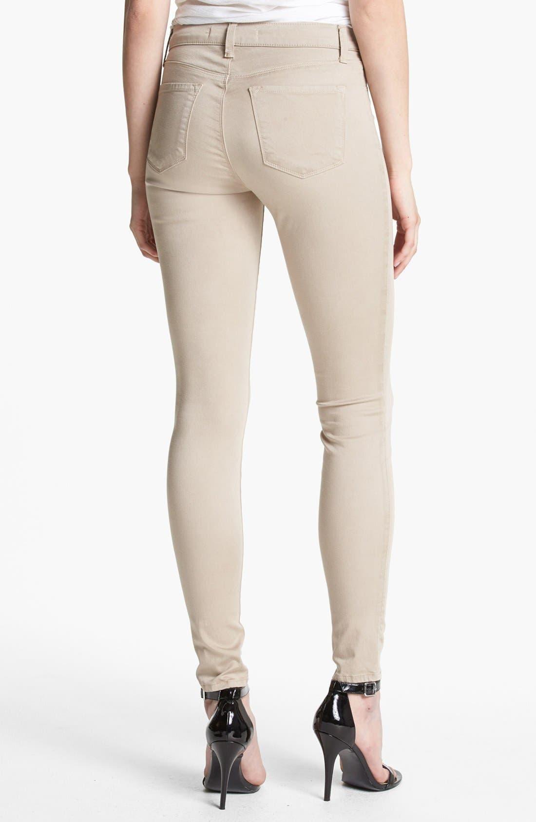 ,                             '485' Mid Rise Super Skinny Jeans,                             Alternate thumbnail 17, color,                             250