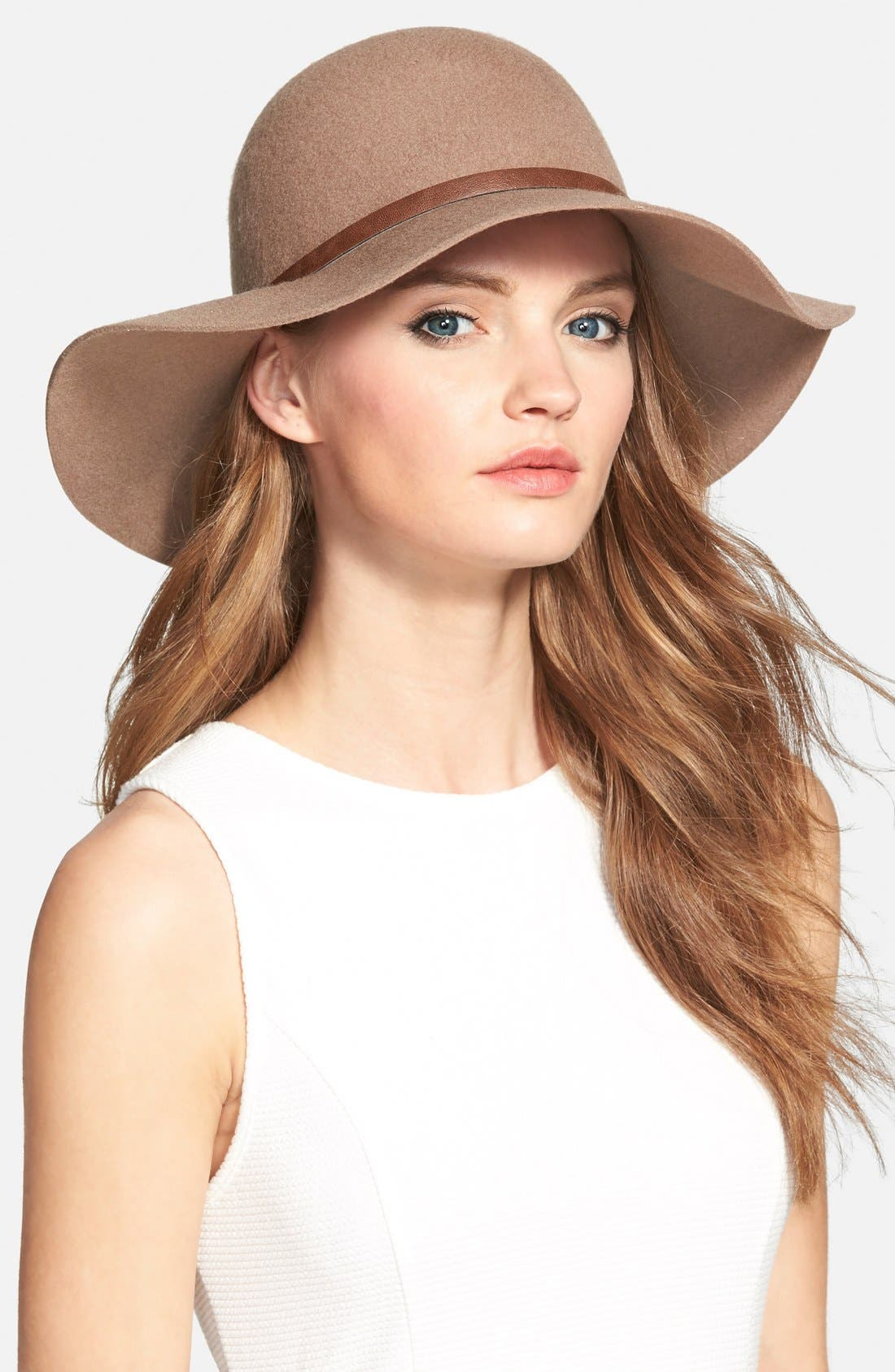 ,                             Floppy Wool Hat,                             Main thumbnail 20, color,                             236