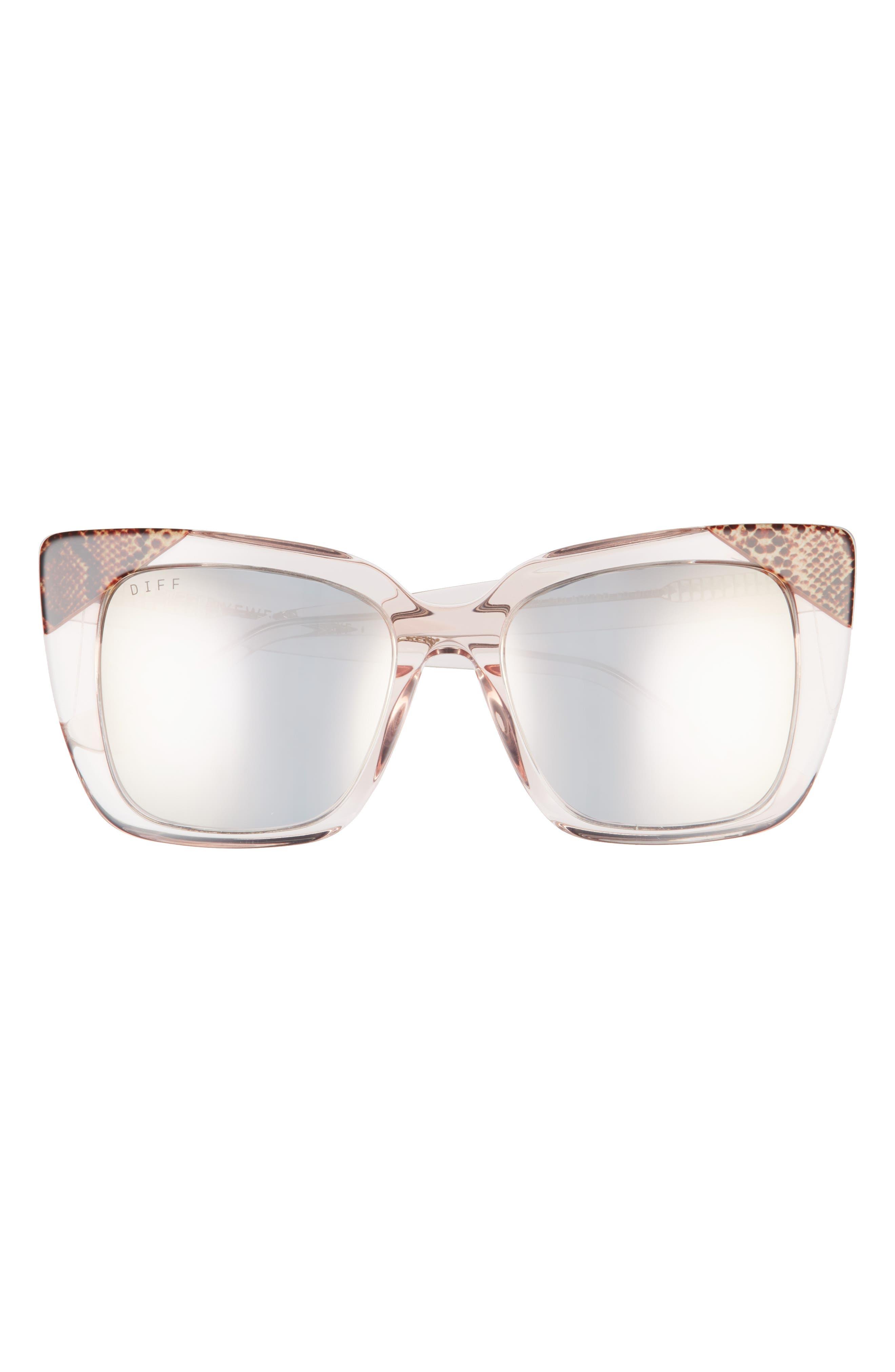 Lizzy 54mm Polarized Cat Eye Sunglasses