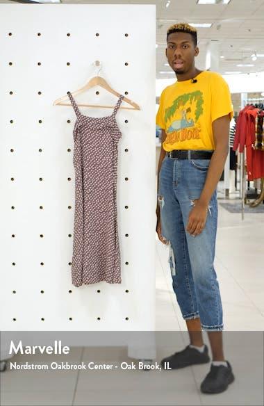 Print Sleeveless Midi Dress, sales video thumbnail