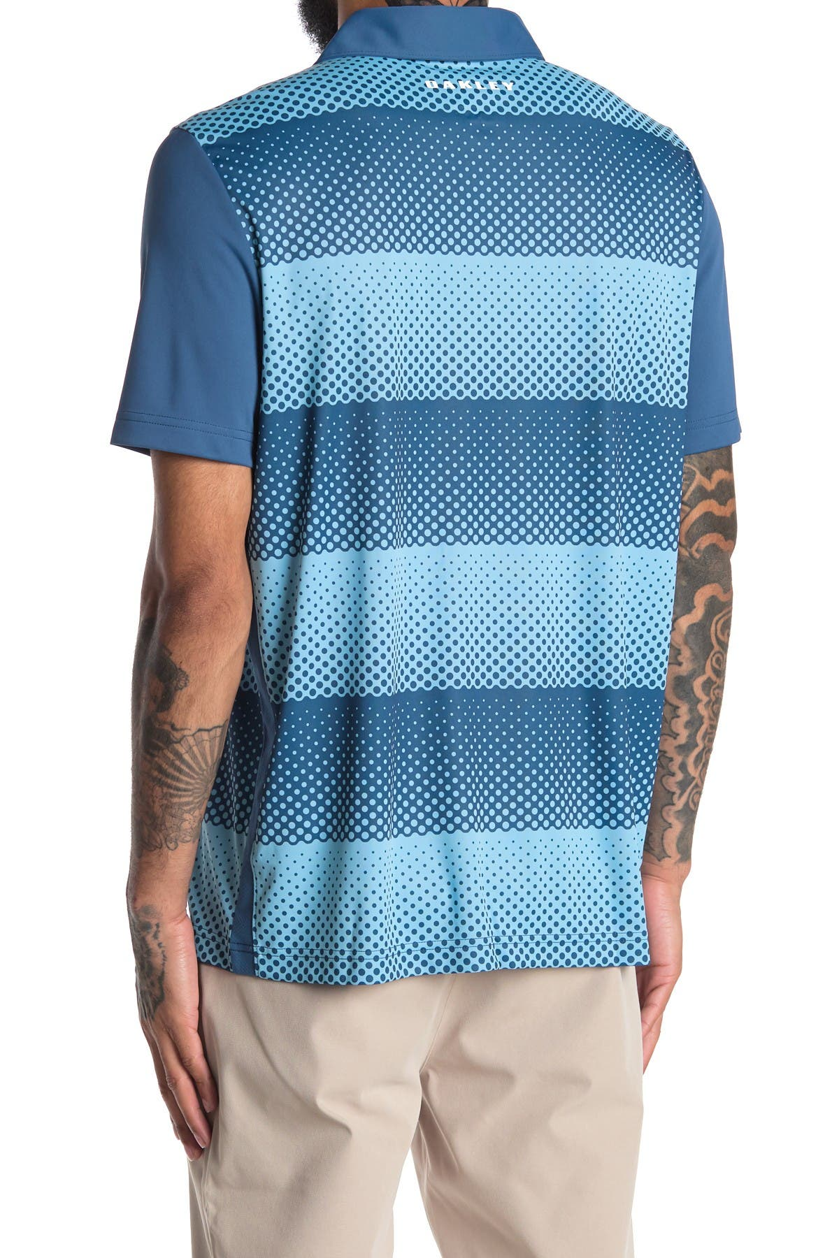 Image of Oakley Dot Stripes Polo