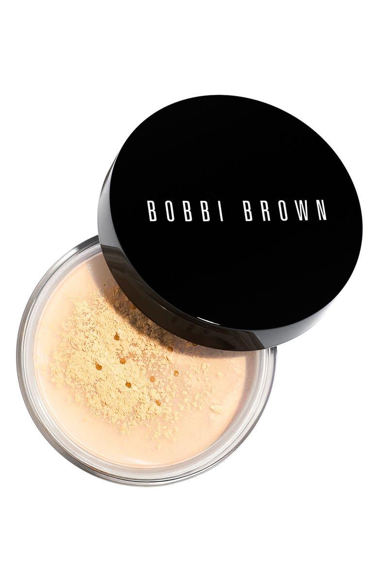 BOBBI BROWN Sheer Finish Loose Powder, Main, color, PALE YELLOW