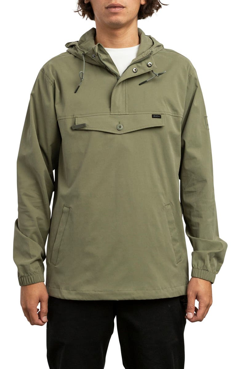 RVCA On Point Anorak, Main, color, FATIGUE