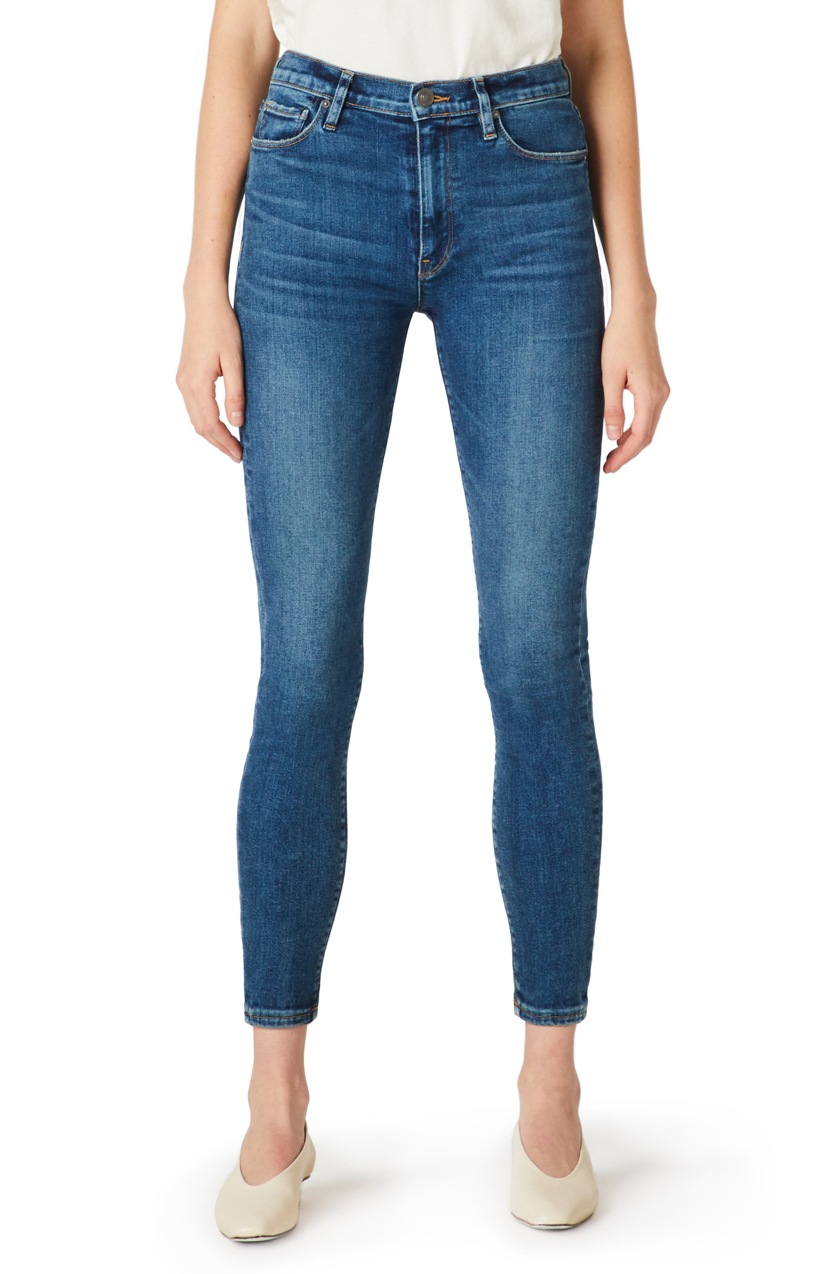 Barbara High Waist Ankle Skinny Jeans