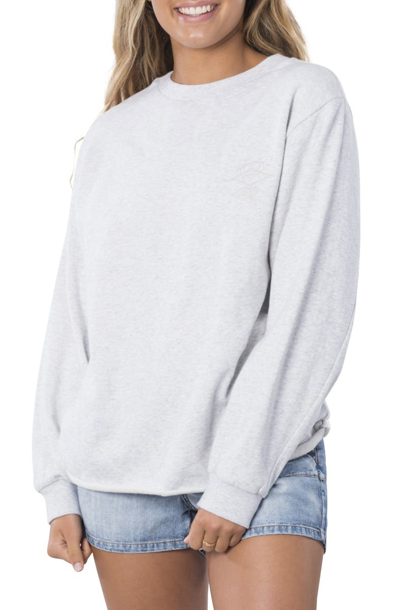 RIP CURL The Searchers Sweatshirt, Main, color, MGH