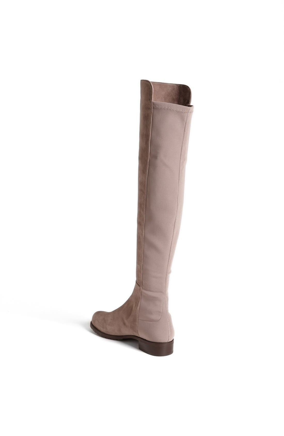 ,                             5050 Over the Knee Leather Boot,                             Alternate thumbnail 42, color,                             250