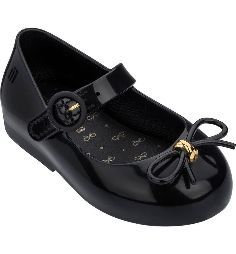 MINI MELISSA Sweet Mary Jane Flat, Main, color, BLACK