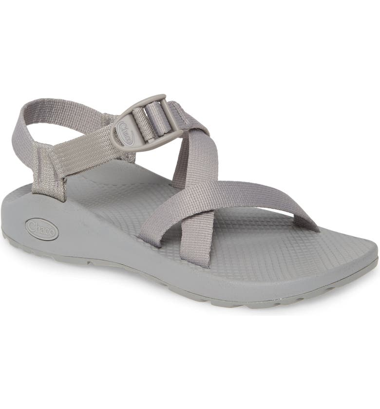 CHACO Z1 Classic Monochrome Sandal, Main, color, WET WEATHER FABRIC