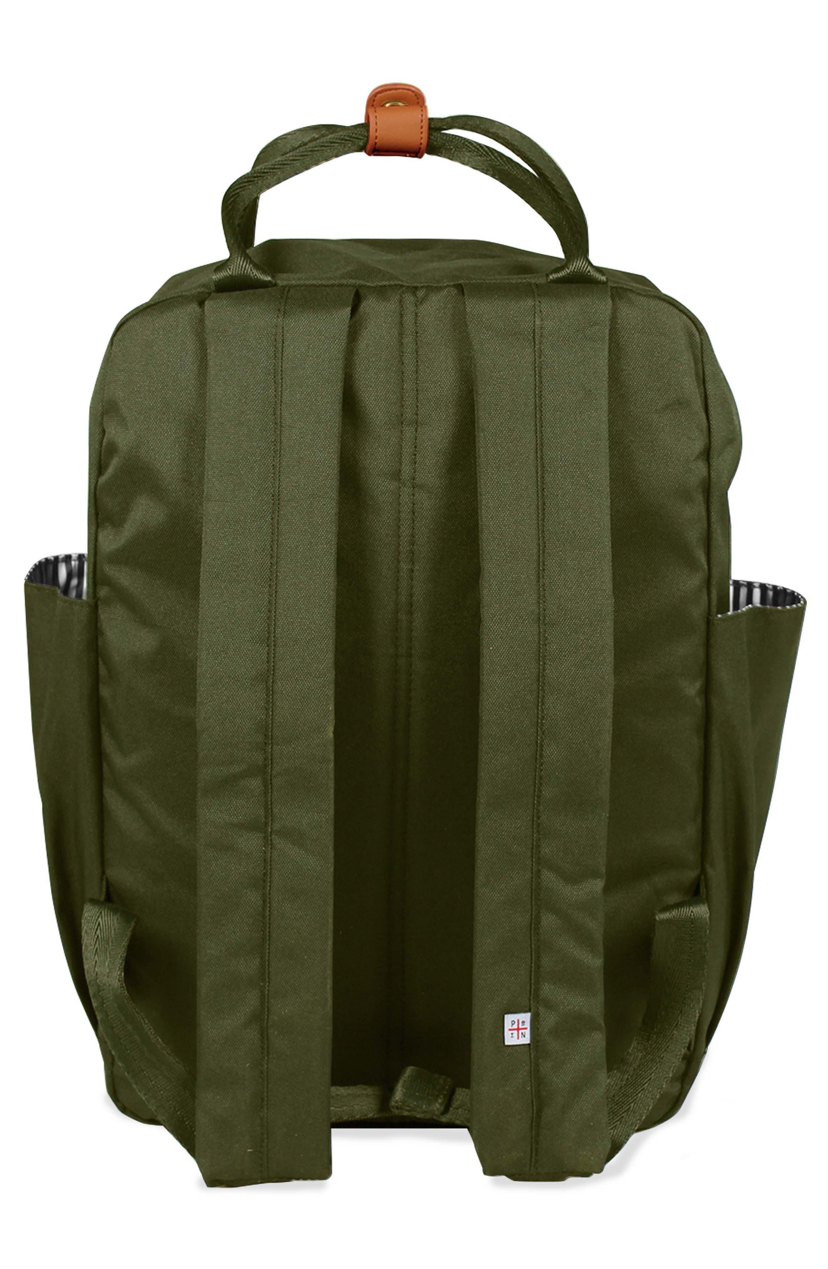 ,                             Elkin Diaper Backpack,                             Alternate thumbnail 3, color,                             OLIVE