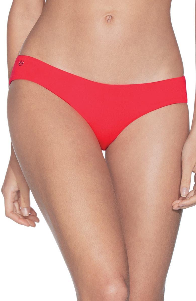 MAAJI Sublime Reversible Signature Cut Bikini Bottoms, Main, color, CANDY APPLE RED