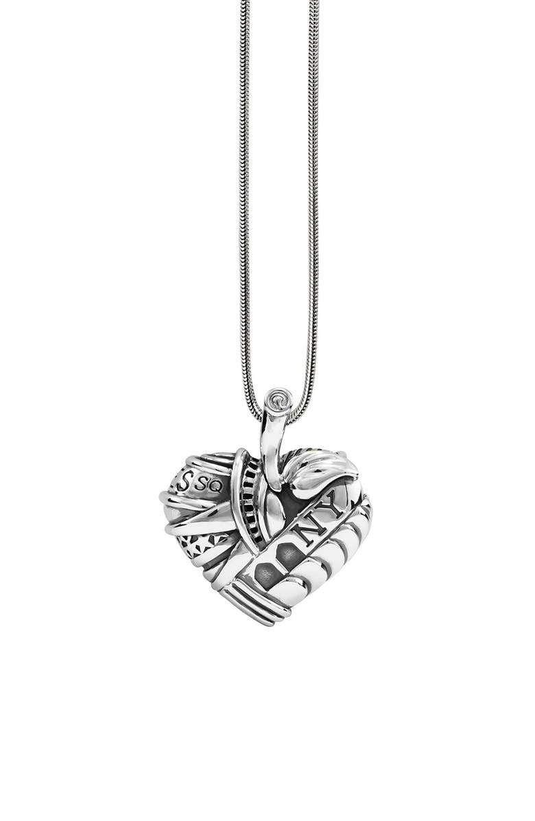 LAGOS 'Hearts of LAGOS - New York' Long Pendant Necklace, Main, color, HEART OF NEW YORK