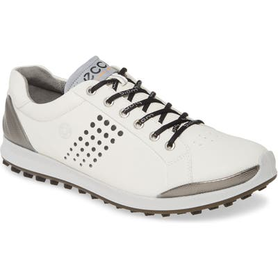 Ecco Biom Hybrid 2 Sneaker Golf Shoe, White