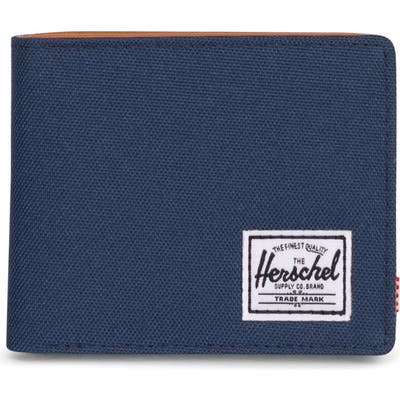 Herschel Supply Co. Hank Rfid Bifold Wallet - Blue