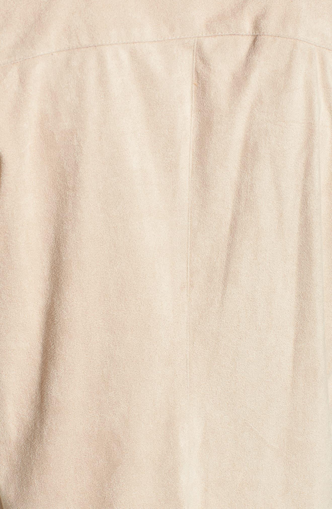 ,                             Nicholson Faux Suede Drape Front Jacket,                             Alternate thumbnail 68, color,                             905