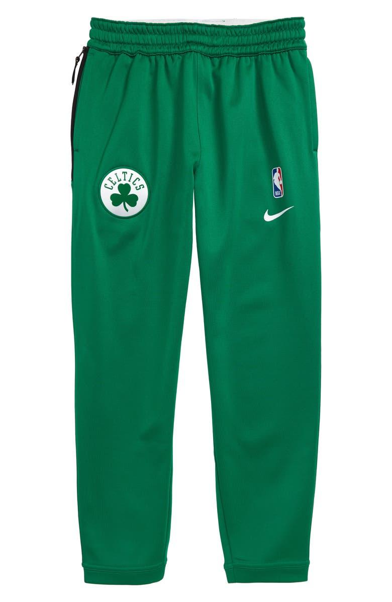NIKE NBA Boston Celtics Dry Sportlight Sweatpants, Main, color, 300