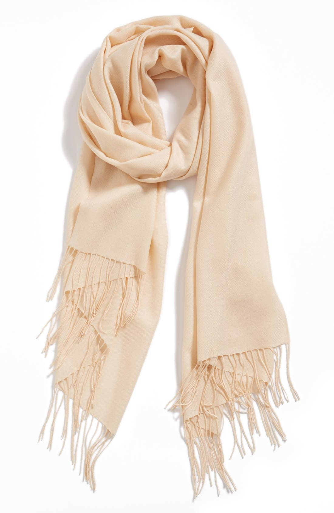 ,                             Tissue Weight Wool & Cashmere Wrap,                             Main thumbnail 207, color,                             805