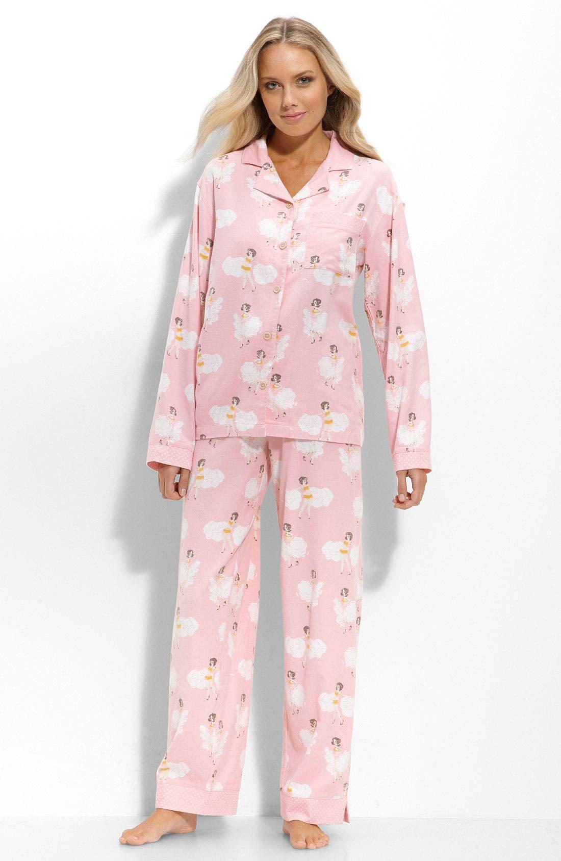 ,                             Flannel Pajamas,                             Main thumbnail 81, color,                             680