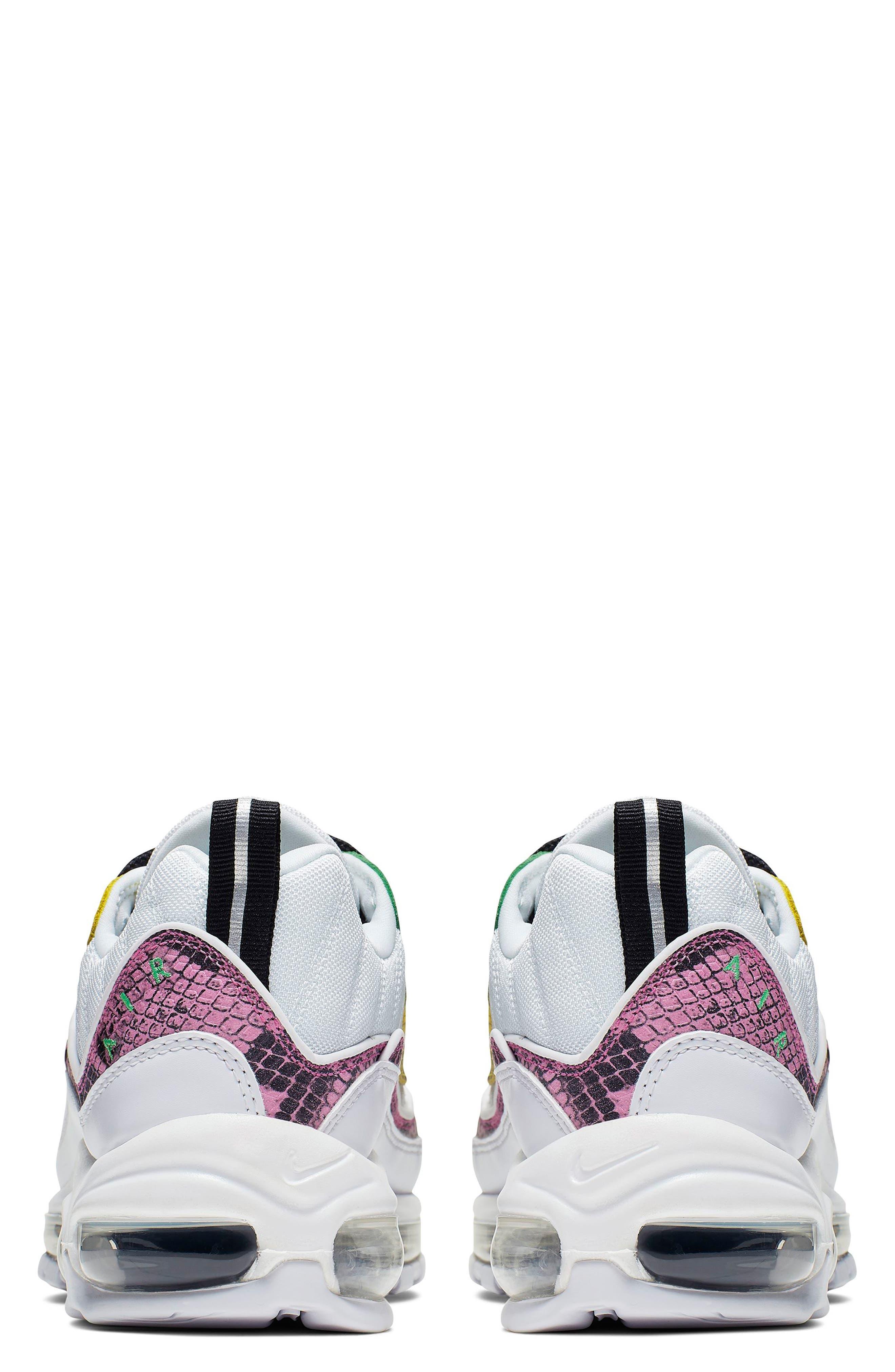 ,                             Air Max 98 Premium Sneaker,                             Alternate thumbnail 2, color,                             WHITE/ BLACK