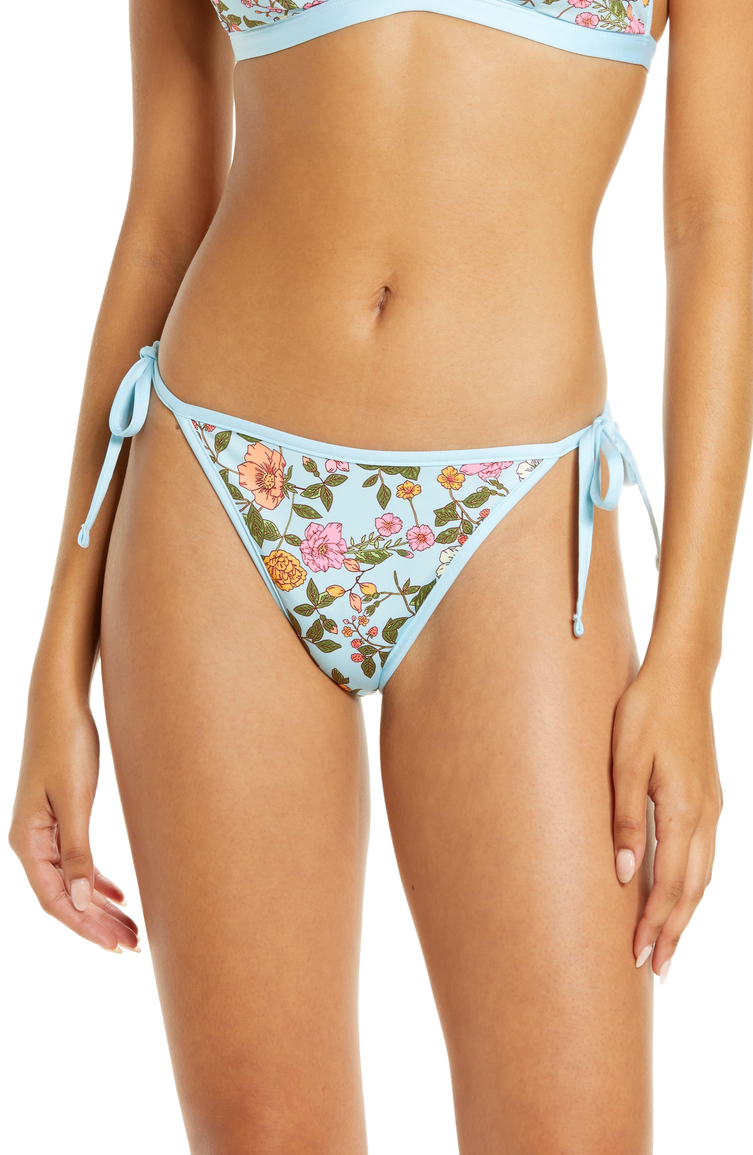 Fresh Breeze Leilani Reversible Side Tie Bikini Bottoms