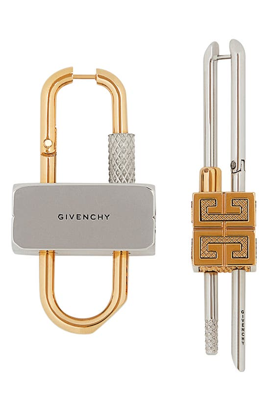 Givenchy Earrings MISMATCHED LOCK EARRINGS