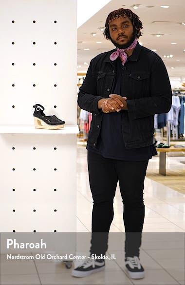 Teagan Woven Ankle Strap Wedge Sandal, sales video thumbnail