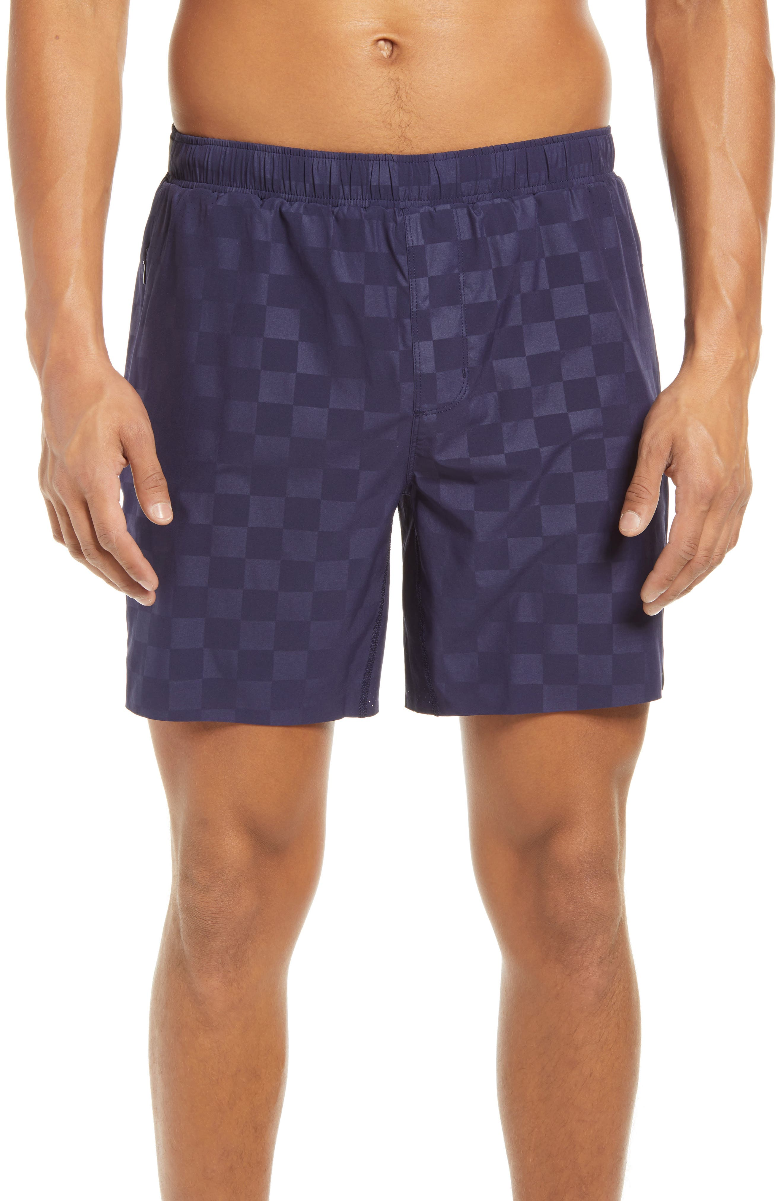 Four-way-stretch fabric keeps you moving on the field and off in drawstring soccer shorts sporting mesh insets and a supportive interior brief. A pair of zippered pockets keeps your essentials securely stowed while you\\\'re working out or kicking goals. Style Name: Rhone Swift Academy Soccer Shorts. Style Number: 6106147. Available in stores.