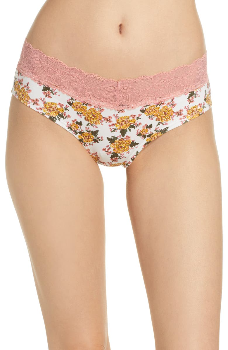 Lace Trim Hipster Panties by Bp.