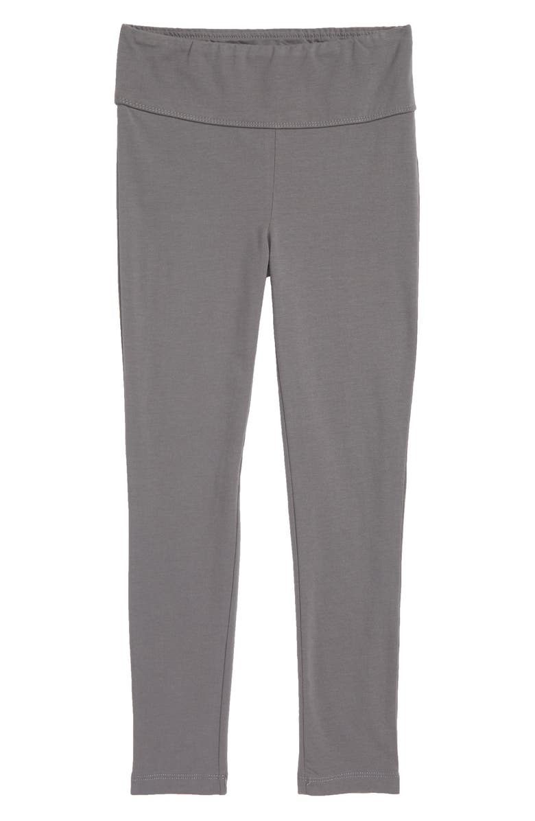 TUCKER + TATE High Waist Leggings, Main, color, GREY CASTLEROCK