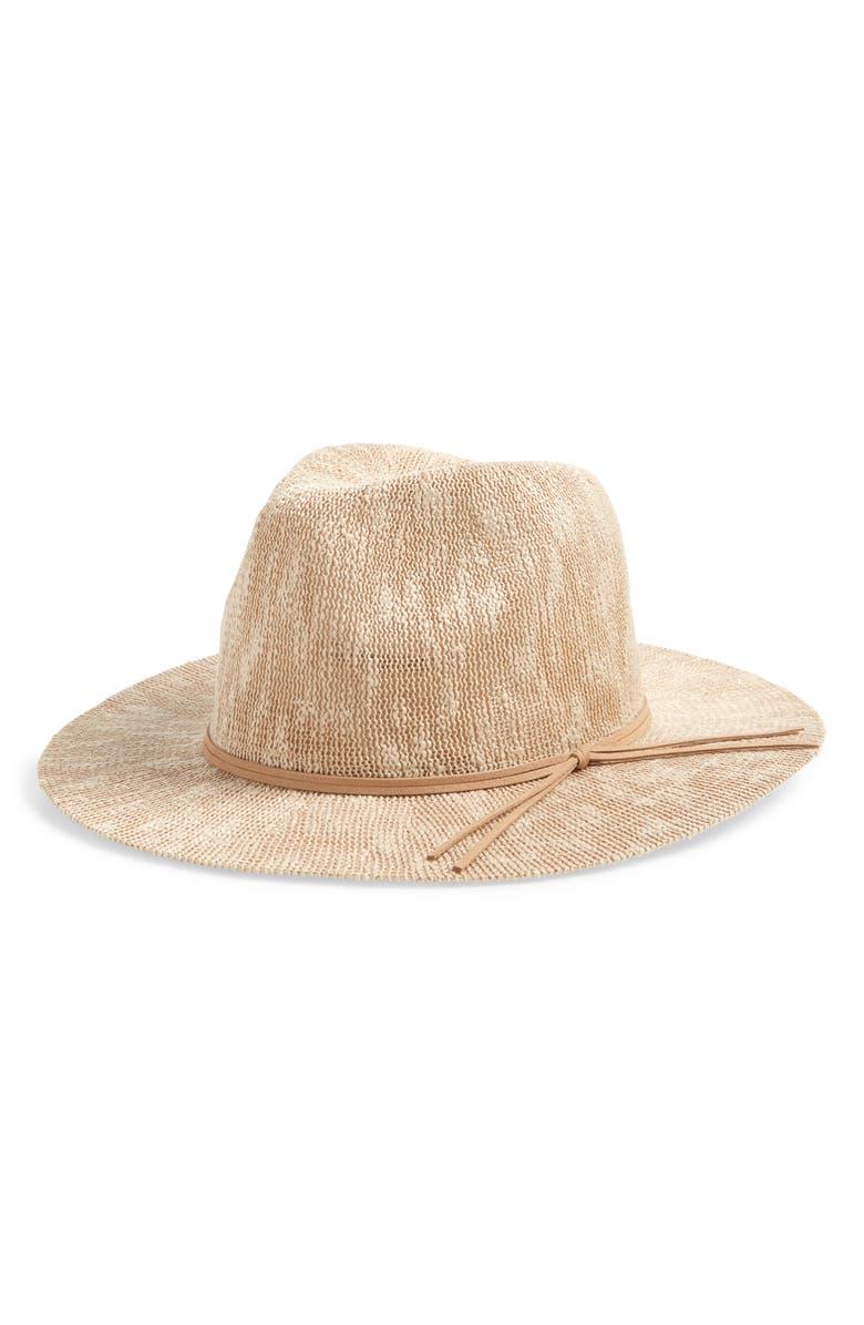 BP. Packable Panama Hat, Main, color, TAN