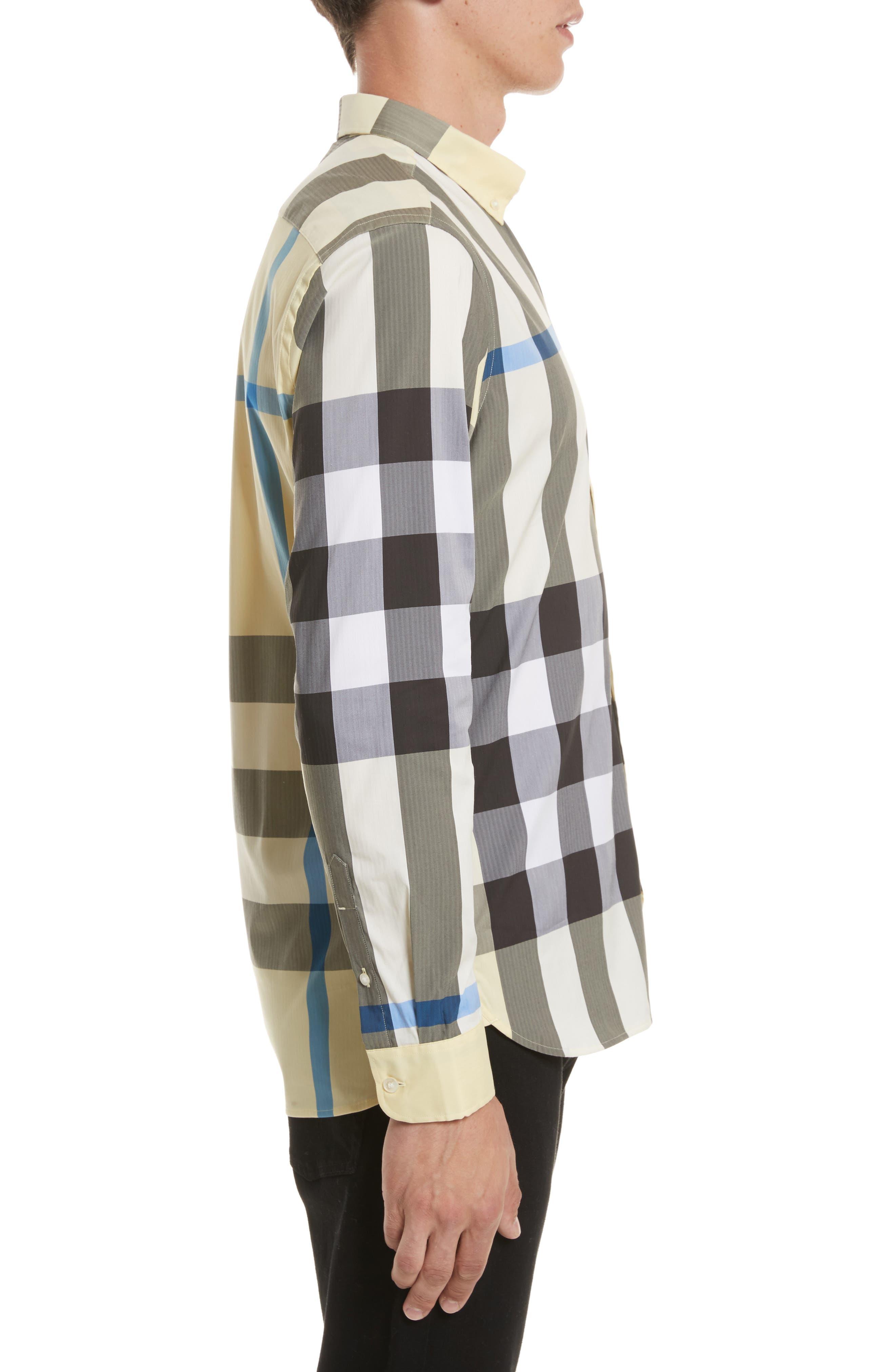 ,                             Thornaby Slim Fit Plaid Sport Shirt,                             Alternate thumbnail 53, color,                             740
