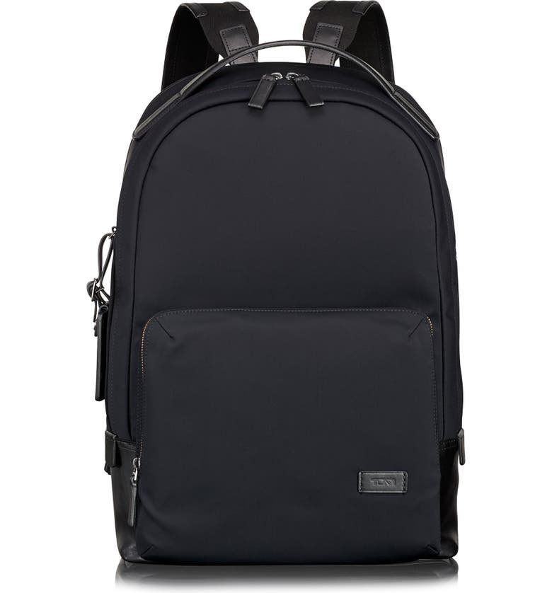 TUMI Harrison Webster Backpack, Main, color, BLACK NYLON