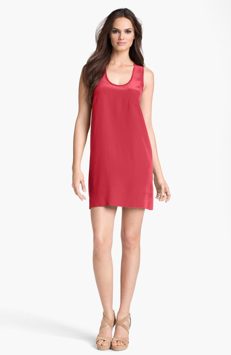 JOIE 'Peri' Silk Tank Dress, Main, color, 400