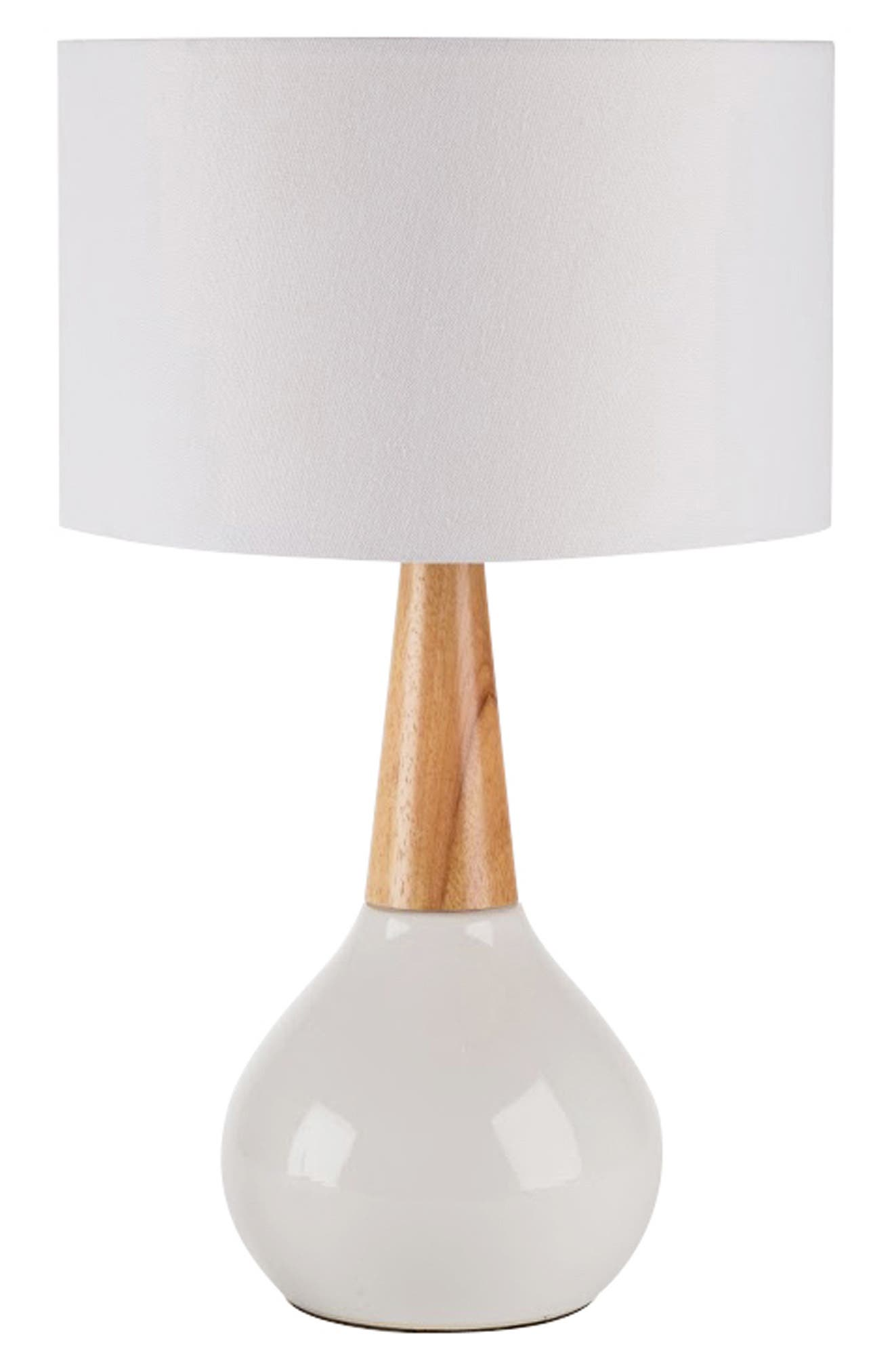 Surya Home Kent Table Lamp Size One Size  White