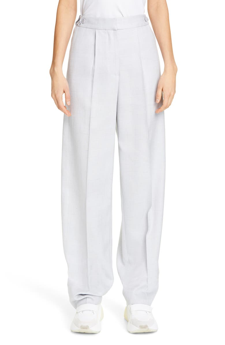 STELLA MCCARTNEY Pleated Trousers, Main, color, 400