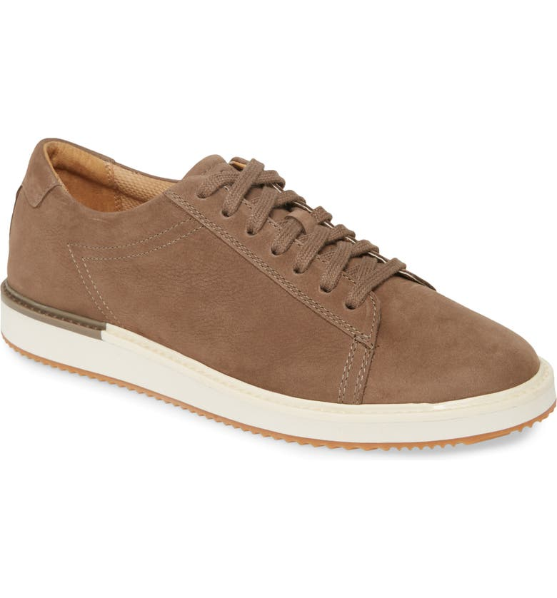 HUSH PUPPIES<SUP>®</SUP> Hush Puppies Heath Sneaker, Main, color, FOSSIL NUBUCK