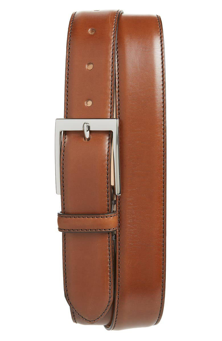 TO BOOT NEW YORK Leather Belt, Main, color, PARMA TEK