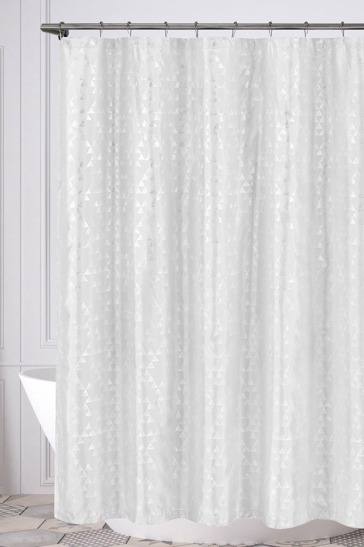 Duck River Textile Juno Geometric Shower Curtain White Nordstrom Rack