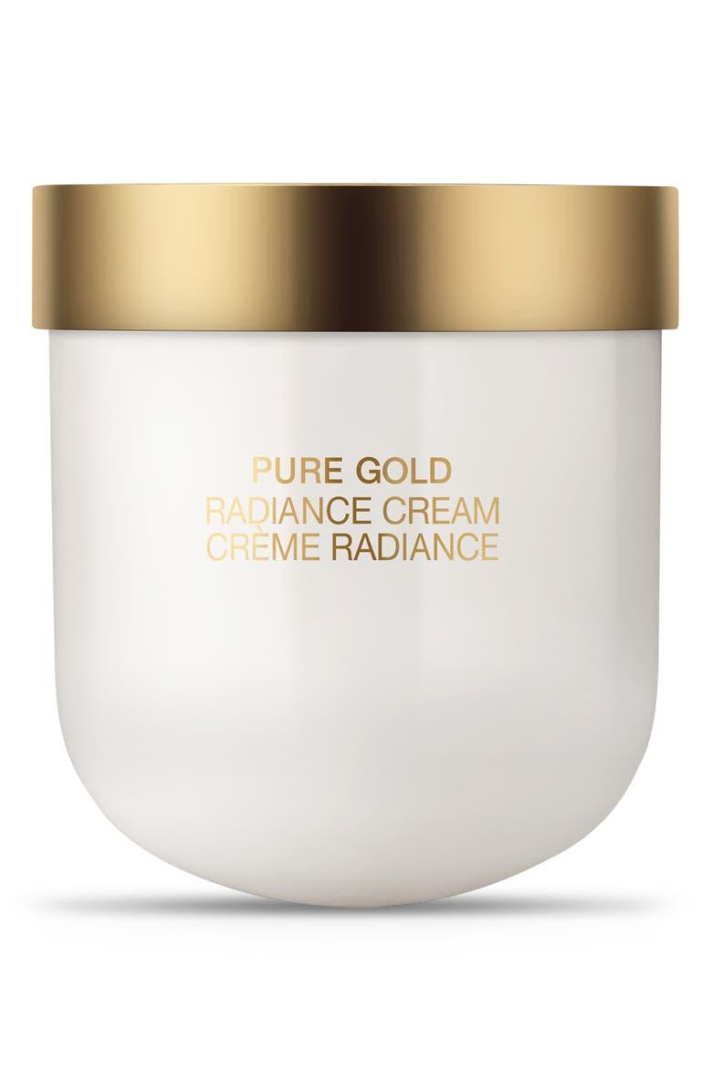 LA PRAIRIE Pure Gold Radiance Cream Refill, Main, color, NO COLOR