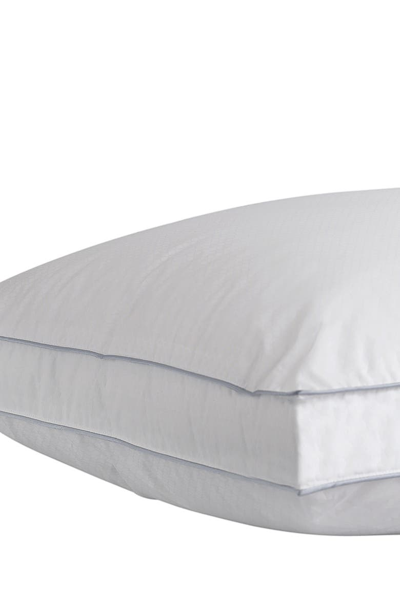 CLIMAREST Gusseted Pillow, Main, color, WHITE