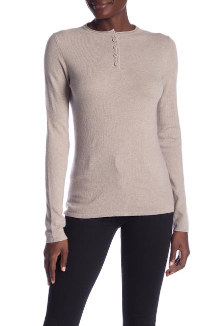 Image of Inhabit Cashmere Henley Tee