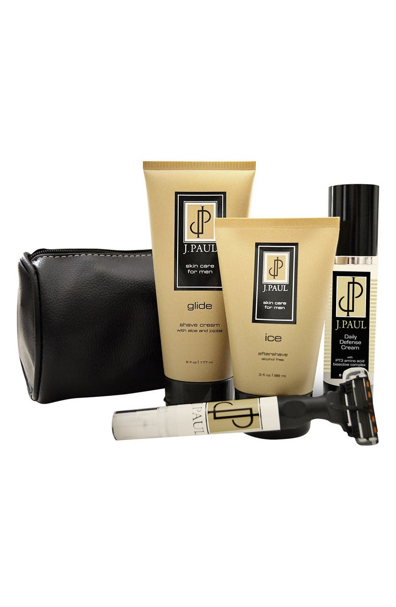 J. PAUL Skincare Anti-Aging Shave Kit, Main, color, 000